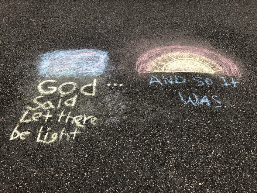 PPC Chalk Art