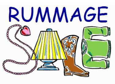 Rummage Sale clip art
